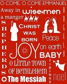 What an awesome idea to make a Christmas subway art sign with Christmas songs.  This I am doing for sure!  I think I hear my cricut calling me now in fact :)