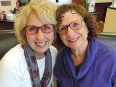 a1db091270 Two lovely ladies looking sharp in their colorful eyewear!  EtniaBarcelona   SpectacularEyewearLI www.spectaculareyewear.net