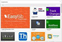 Google lanza Complementos para documentos y hojas de cálculo