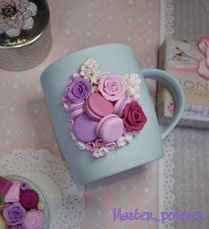 Комплект «Нежные сладости» чашка с ложкой, отдельно кружка 1500₽ – купить в интернет-магазине на Ярмарке Мастеров с доставкой - F7WNLRU