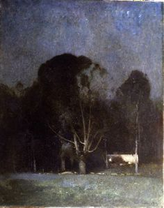 Emil Carlsen. Night, Old Windham, 1904. Oil on canvas. *Favorite*