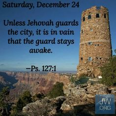 Unless God guards the city, it is in vain that the guard stays awake. - Psalm 127:1.