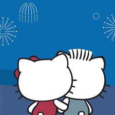 "7,033 Me gusta, 108 comentarios - Hello Kitty (@hellokitty) en Instagram: ""Wishing you a Happy New Year ❤ #HelloKitty #DearDaniel #2018"""