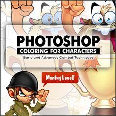 Learning digital coloring in Photoshop Illustration Courses, Digital Illustration, Mascot Design, Logo Design, Character Drawing, Character Design, Case Studio, Cartoon Logo, Isco