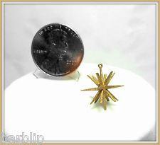 Dollhouse Miniature Handcrafted German Wood Star Christmas Ornament
