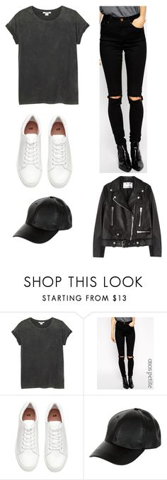 """T/S"" by rita-malakyan ❤ liked on Polyvore featuring Monki, ASOS, New Look and Acne Studios"