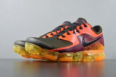 new styles 78d73 d5817 New Nike Air VaporMax 2018 2.0 Flyknit Orange Wine Red Montage Women Men  New Nike Air