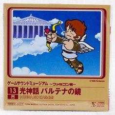 Kid Icarus : UPRISING Game Sound Museum Nintendo Music 8cm CD JAPAN FAMICOM