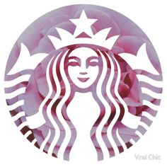 Starbucks Mermaid Pink Petals Logo - Hipster/Tumblr/Pretty/Trendy Meme