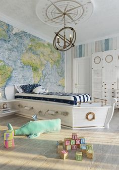 Insanely cool beds for kids | Discover the most luxury kids' beds in the world for kids. From planed to mermaids' beds you will find everything! Go to WWW.CIRCU.NET