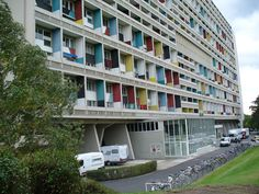 Image result for Unite d'Habitation of Berlin / Le Corbusier