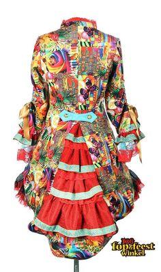 Carnavals jas dames Summer color