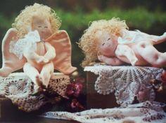 Christmas Craft Sewing Pattern  Cherubs  Shelf by LindaHarvey