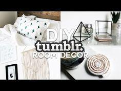 DIY Tumblr Inspired Room Decor - Minimal & Simple (2016) - YouTube