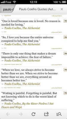 Paolo Coelho Quotes !