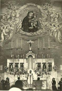 "douayrheims: ""Padre Pio celebrating Holy Mass """