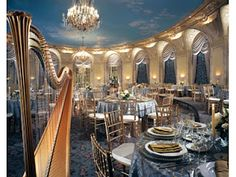 Our junior-senior banquet was held in this beautiful dining room at the Copley Plaza hotel in Boston