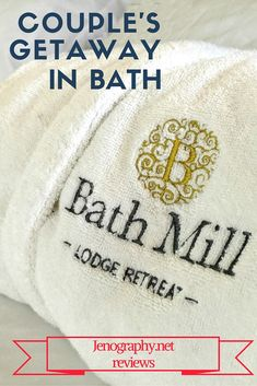 Enjoy a couple's getaway along with the delights of Bath in a beautiful landscaped property minutes from downtown. Jenography reviews the Norland Suite at Bath Mill Lodge Retreat