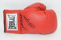 """Joe Frazier and Jake LaMotta Dual Signed Boxing Glove PSA/DNA COA.. Use Promo Code """"PBS15"""" and get 15% off purchases #UltimateAutographs"""