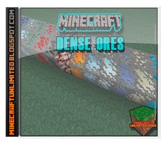 Minecraft Unlimited Mods: Descargar Dense Ores Mod para Minecraft [1.8]