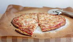 Recept na zdravou květákovou pizzu bez mouky
