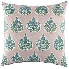 Charua Pillow by John Robshaw  #figlinens #freeshipping #06880 #figlinenswestport #Figlinensandhome #chic #westport #comfort #homedecor #cozy