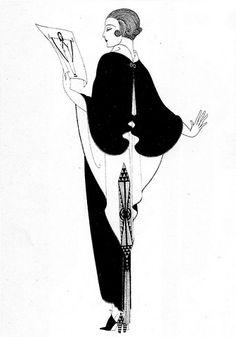 Erté - Erte - RT - Romain de Tirtoff - Illustration