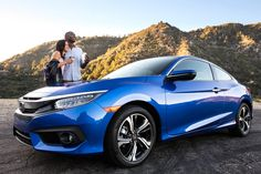 Mountains, coffee and the 2016 Civic Coupe. We can't think of a better first date.