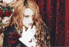 Kamijo - Versailles (or as I remember it better, Lareine)    Well somehow long wavy hair works for him.