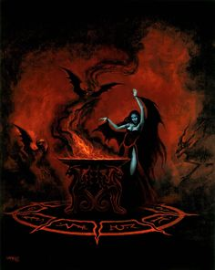 Beauty and The Beast: Gothic Fantasy Artwork by Joseph Vargo Arte Horror, Gothic Horror, Horror Art, Dark Fantasy Art, Fantasy Artwork, Satanic Art, Arte Obscura, Vampire Art, Occult Art