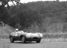 Paramount Ranch on March 10, 1957.     March winner Jerry Austin ran as high as 2nd, but DNF'd.  Pete Woods finished 2nd to Daigh in another D-Type Jaguar.