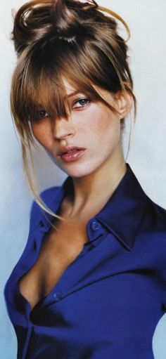 Kate Moss by Mario Testino. Why did you do too many drugs Kate?! You used to be a DIME! :(