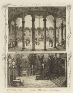 Paphos, 1812. Salle de danse | Paphos, 1812. Jardin