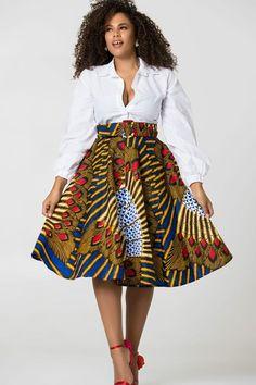African Print Balbina Midi Skirt is sweet as summer - Shop Grass-fields. African Print Balbina Midi Skirt is sweet as summer – Shop Grass-fields. African Print Balbina Midi Skirt is sweet as summer – African Print Skirt, African Print Clothing, African Print Dresses, African Dresses For Women, African Wear, African Attire, African Prints, African Style, African Inspired Fashion