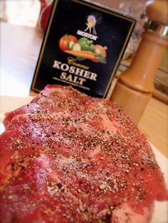 New England Pot Roast (horseradish)salt-pepper-roast