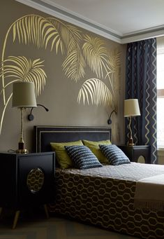 Elegant classy home deco styles for you bedroom decor ideas 03 Bedroom Wall Designs, Bedroom Bed Design, Bedroom Furniture Design, Home Room Design, Home Decor Bedroom, Home Interior Design, Modern Bedroom, Indian Bedroom Decor, Bedroom Beach