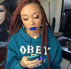 2 Simple Step-by-Step Guides to Braiding Your Hair Black Girls Hairstyles, Curled Hairstyles, Weave Hairstyles, Faux Locs Colored, Mermaid Braid, Dream Hair, Hair Hacks, Your Hair, Makeup Looks