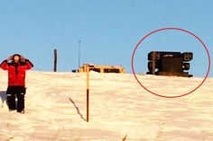 The Avenger missile launcher is foremost a weapon of war. What is it doing at the site of a peaceful protest?