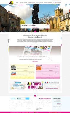 Nouvelle réalisation Startup avec la refonte du site officiel de la commune de Louvigné du Désert. Site propulsé par E-majine, www.louvignedudesert.org