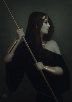 Diana, Serge Birault on ArtStation at https://www.artstation.com/artwork/ryqxe