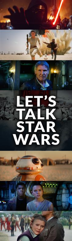 Have you seen #StarWars? Let's talk about it!