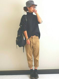 Ayumi│JEANASISのニット・セーターコーディネート-WEAR