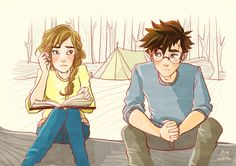A Wild Trashcan – Harry x Hermione Harry Potter Hermione Granger, Harry Potter Ships, Harry James Potter, Harry Potter Books, Harry Potter Fandom, Harry Potter World, Harry Potter Memes, Harry Potter Artwork, Harry Potter Drawings