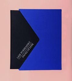 Leif Podhajsky - Reflections Book by Catarina Jordão, via Behance