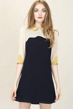 Sugarhill Boutique Scallop Shift Dress