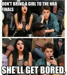 Selena Gomez and Justin Bieber, funny couple - funny pictures - funny photos - funny images - funny pics - funny quotes - funny animals @ humor Funny Captions, Funny Memes, Nba Memes, Funny Quotes, Funny Sports Memes, That's Hilarious, Funny Gym, Funniest Memes, Justin Bieber