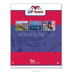 Marketing folder design.