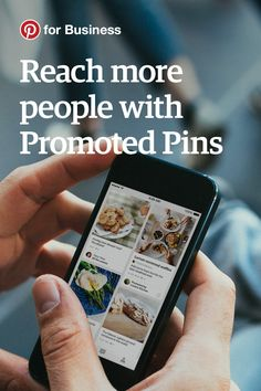 To see if your Pins are helping you get sales, email signups and more, you can set up conversion tracking. First though, you'll need to promote some Pins. Promoted Pins can also help you grow your audience and increase traffic to your site.