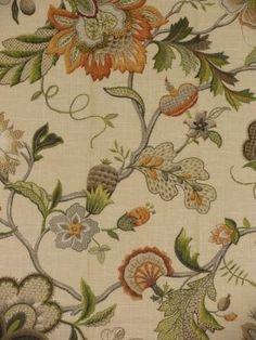 Fisker Garden - www.BeautifulFabric.com - upholstery/drapery fabric - decorator/designer fabric