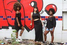 Fotografia: @nega_marreiro Modelos: @gabi_pretinha @xxpuka @_dandakrioula Make-up: Didi Zaluski (@marykaybrasil) Vestem: Vestido e Cropped (Didiz) Saia longa e Blusa Square (@thediversifica) As peças q não foram citadas fazem parte de acervo pessoal. Vendas pelo wpp: 11 97365 2413  #didiz #colaborativa #raizame #sustentabilidade #reaproveitamento #cores #arte #moda #tecidos #estilo #makeup #ótica #sign #design #estilo #vendas #acessórios #brincos  by didi_zaluski http://ift.tt/1TVboZu